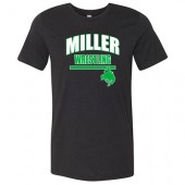 Miller Wrestling Winter 2017 01 Bella & Canvas Unisex Short Sleeve Jersey Tee