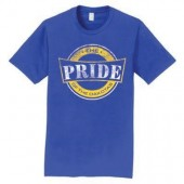 SDSU The PRIDE 2016 01 50/50 Cotton Poly Blend Short Sleeve