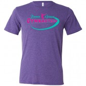 Power and Grace Gymnastics 01 Unisex Triblend Tee