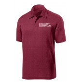 Discovery Elementary 01 Sport Tek Heather Performance Polo