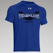 Redfield Doland Wrestling 2016 01 UA Mens, Womens and Youth Locker Tee