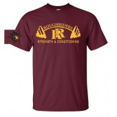 Roosevelt Strength 01 50/50 Cotton/Poly Blend Tee
