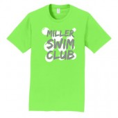 Miller Swim Club 01 Adult and Youth 100% Ringspun Cotton Short Sleeve T Shirt