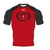Northwestern Football Travel/Pre-game Gear 02 Armourfuse Custom Compression Shortsleeve - REQUIRED