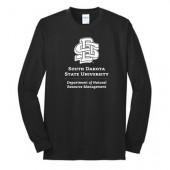 SDSU Natural Resource Management Fall 2016 02 50/50 Cotton Poly Blend Longsleeve T Shirt