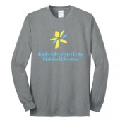 SDSU Fishback Early Childhood Center  02 Youth and Adult 50/50 Cotton Poly Blend Long Sleeve