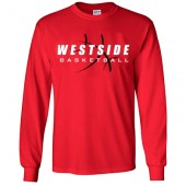 Omaha Westside Basketball 2016 02 Gildan Ultra Cotton Long Sleeve Tee