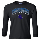 Sioux Falls Christian Basketball 2016 02 Gildan Youth Long Sleeve Tee