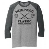 Dakota Premier Hockey Mite A and Mite B 02 Youth (50/50 Blend) ¾ Sleeve T Shirt