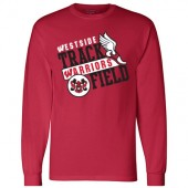 Omaha Westside Track & Field 02 Champion Long Sleeve T-Shirt