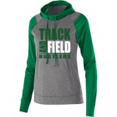 Miller Track and Field  2017 02 Mens and Ladies Holloway Echo Hoody. Poly performance material. Ladies style has thumbholes.