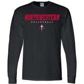 NWC Volleyball 2017 Fan Gear 02 Gildan Long Sleeve 50/50 Tee