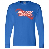 West Sioux Softball Fans 02 Gildan Long Sleeve Tee