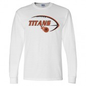 Sioux Center Titans Youth Football 2017 02 Gildan Long Sleeve Tee