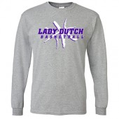 MOC-Floyd Valley Girls Basketball 2017 02 Gildan Long Sleeve Tee