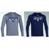 West Central Football and Volleyball 02 WC Football UA locker long sleeve t-shirt