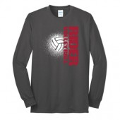 Roosevelt Volleyball 2017 02 Port & Company® Long Sleeve Core Blend Tee