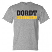 Dordt Men's Basketball Fan Gear 2017 02 Gildan Short Sleeve 50/50 Tee