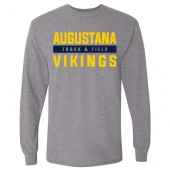 Augustana Cross Country and Track & Field 2017 02 Gildan Long Sleeve Tee
