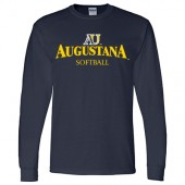 Augustana Softball 2017 Fans 02 Gildan Dry-Blend Long Sleeve Tee