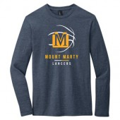 Mount Marty Men's Basketball 2017 Fan Webstore 02 District Long Sleeve Tee