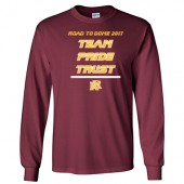 Roosevelt Football State Shirt 2017 02 Gildan® - DryBlend® 50 Cotton/50 Poly Long Sleeve T-Shirt