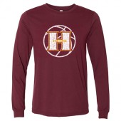 Harrisburg Basketball 2017 02 Bella Long Sleeve T-Shirt