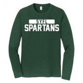 SYFL - Spartans 02 Port & Company Long Sleeve Fav Favorite Tee