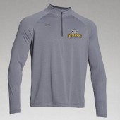 Dordt College Golf 02 UA Team Stripe Tech ¼ Zip