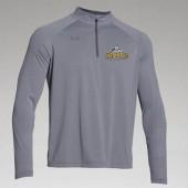 Dordt College Golf 02 UA Team Stripe Tech ¼ Zip