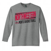 Northwestern Mens Basketball Fangear 02 District Made Long Sleeve Tee