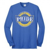 SDSU The PRIDE 2016 02 50/50 Cotton Poly Blend Long Sleeve