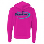 Power and Grace Gymnastics 02 Unisex Full Zip Hoody
