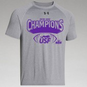 USF Football Conf Champs 03 UA Locker Tee