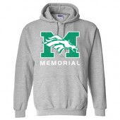 Memorial Middle School 03 Gildan Heavy Blend Hoodie