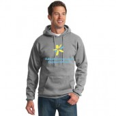 SDSU Fishback Early Childhood Center  03 Adult and Youth Cotton Poly Blend Hooded Sweatshirt