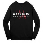 Omaha Westside Basketball 2016 03 Sport Tek Crew Sweatshirt