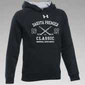 Dakota Premier Hockey 12U B Girls 03 Youth Under Armour 80/20 Cotton Poly Blend Hooded Sweatshirt