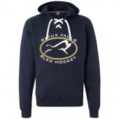 Sioux Falls Sled Hockey 03 J America Hockey Hoody (Runs Big)