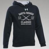 Dakota Premier Hockey 19U A Girls 03 Youth Under Armour 80/20 Cotton Poly Blend Hooded Sweatshirt