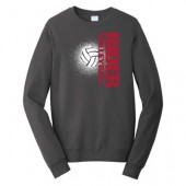 Roosevelt Volleyball 2017 03 Port & Company® Fan Favorite Fleece Crewneck Sweatshirt