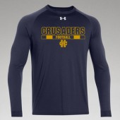 Bishop Heelan Football 2017 03 UA Long Sleeve Locker T-shirt