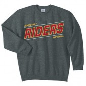 Roosevelt Softball 2017 Fan 03 Gildan Crew Sweatshirt
