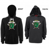 Junior Musketeers 2017 CCM Store 03 Youth and Adult CCM Team Fleece Hockey Lace-Up Hoodie