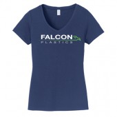 Falcon Plastic Fall 2017 03 Port & Company® Ladies Fan Favorite V-Neck Tee