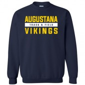 Augustana Cross Country and Track & Field 2017 03 Gildan Crew Sweatshirt