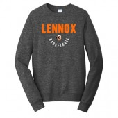 Lennox Youth Basketball Fall 2017 03 Port & Company® Fan Favorite Fleece Crewneck Sweatshirt
