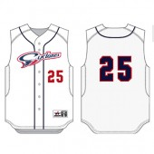 Sioux Falls Cyclones Uniforms 2018 03 Mens Alleson Baseball Vest- 6 week delivery from CLOSE of store