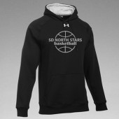 SD North Stars Basketball 03 Adult or Youth Team Rival Charged Cotton 80/20 Blend Hooded Sweatshirt