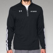 Live United 03 Mens or Ladies Under Armour Qualifer ¼ Zip